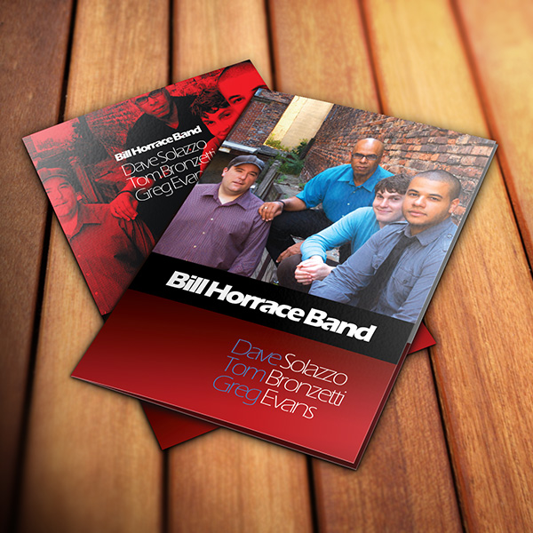 Folder Design - Bill Horrace Band