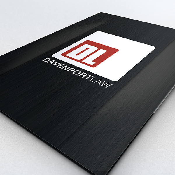 Folder Design - Davenport Law School