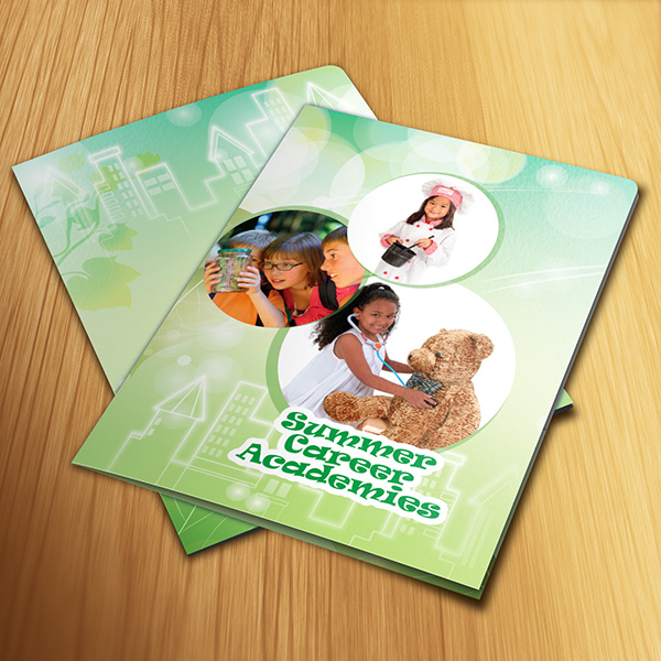 Folder Design - Summer Career Academies