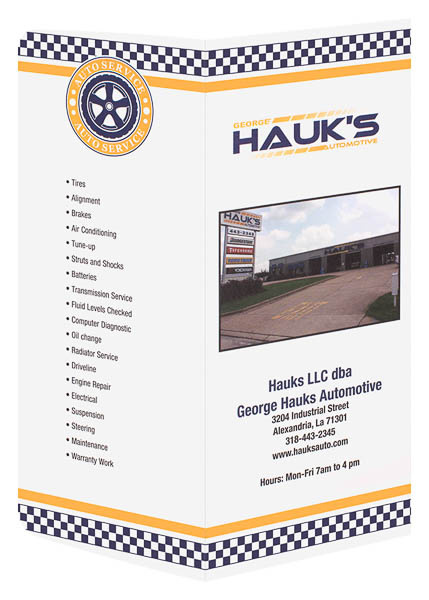 George Hauk's Automotive (Back and Front Open View)