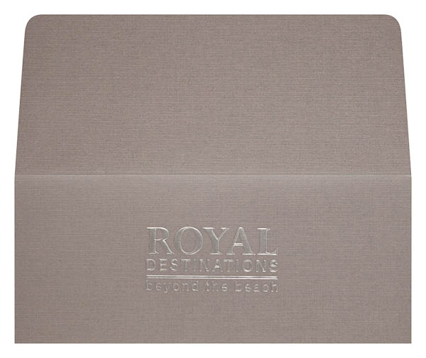 Royal Destinations (Front and Back Flat View)