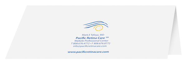 Pacific Retina Care (Back Open View)
