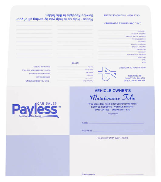 Payless Car Sales (Back Flat View)