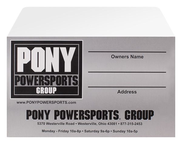 Pony Powersports Group (Custom One View)