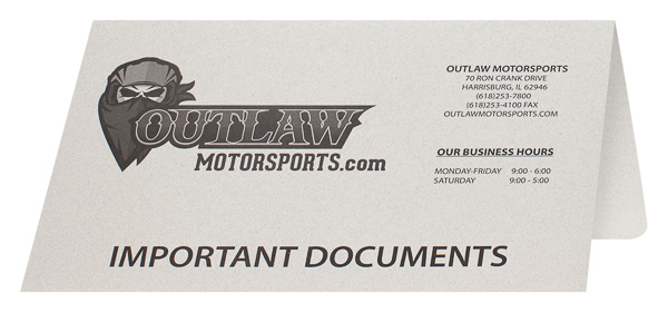 Outlaw Motorsports (Front Open View)