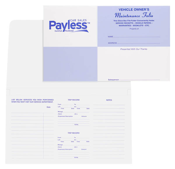 Payless Car Sales (Stack of Two Front and Inside View)