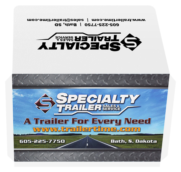 Specialty Trailer Sales & Service (Back and Front Open View)