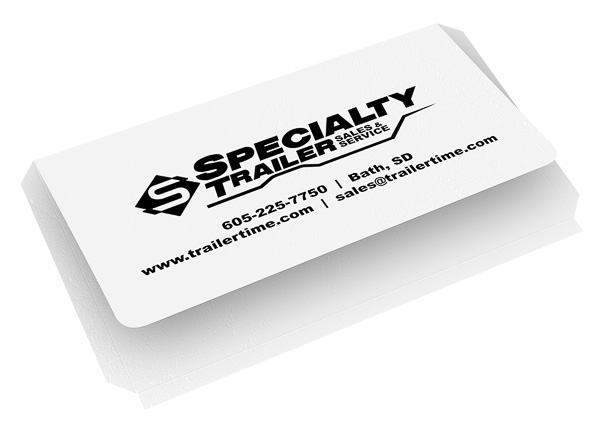 Specialty Trailer Sales & Service (Back Open View)