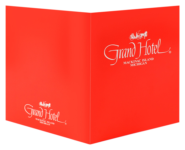 Grand Hotel Mackinac Island (Front and Back Open View)