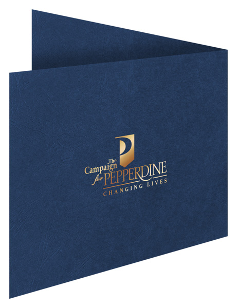 The Campaign for Pepperdine (Back Open View)