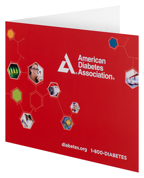 American Diabetes Association (Front Open View)