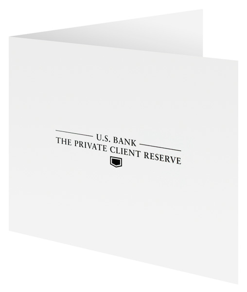 The Private Client Reserve of U.S. Bank (Front Open View)