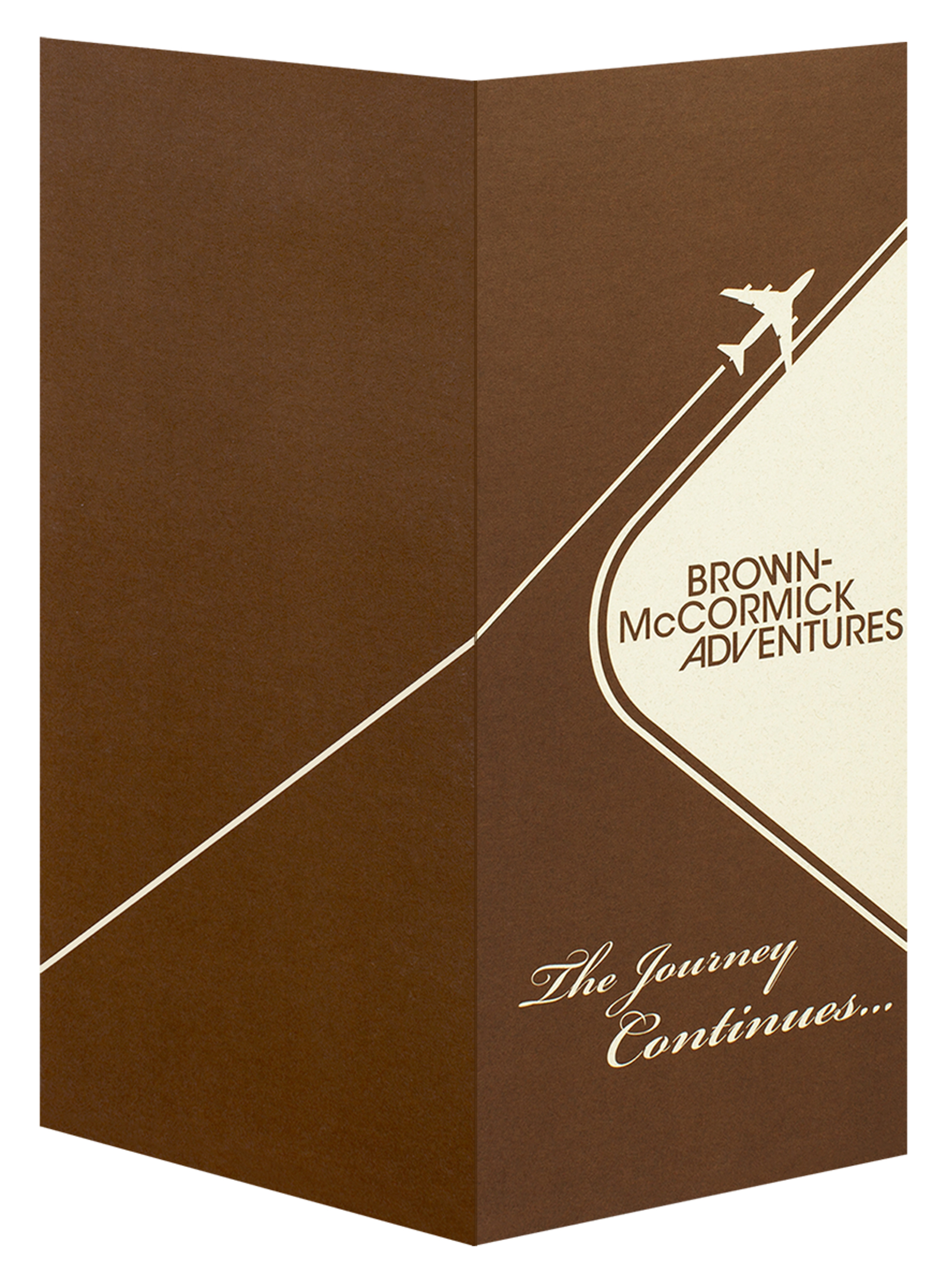 Brown-McCormick Adventures (Back and Front Open View)