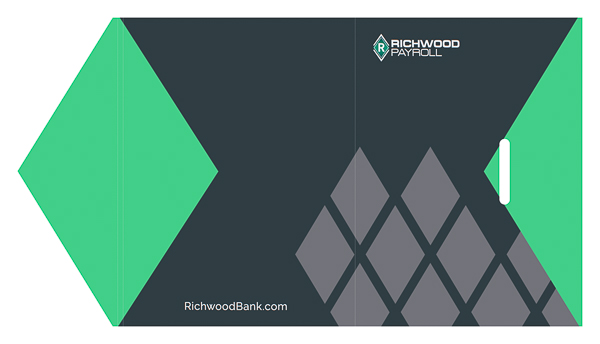 Richwood Bank (Front and Back Flat View)