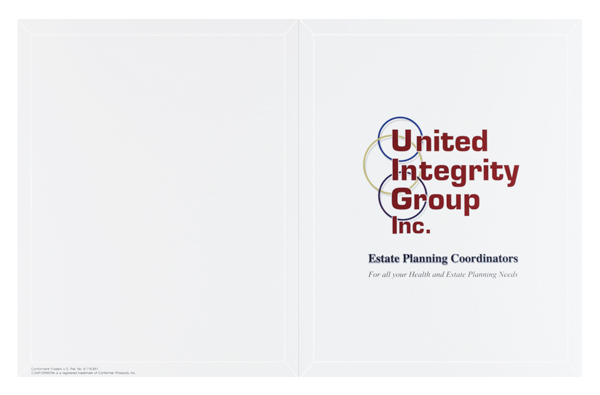 United Integrity Group (Front and Back Flat View)
