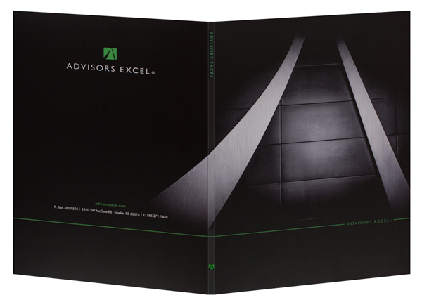 Advisors Excel (Front and Back Open View)
