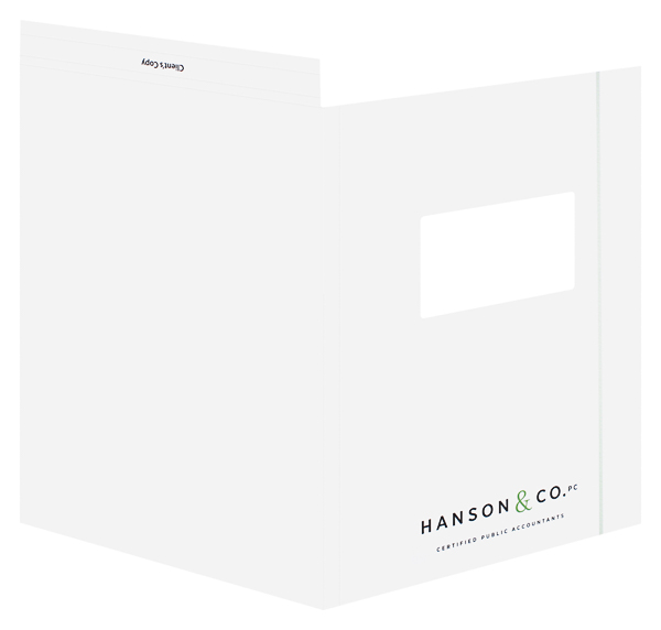 Hanson & Co., PC (Front and Back Open View)