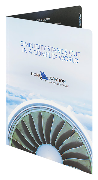 Hope Aviation Insurance (Front Open View)