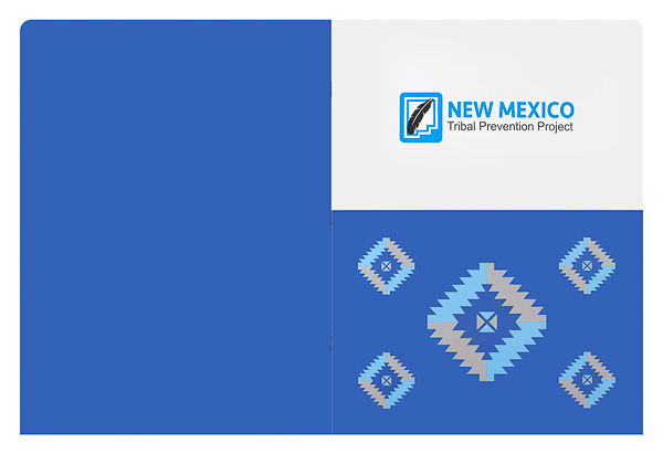 New Mexico Tribal Prevention Project (Back Flat View)