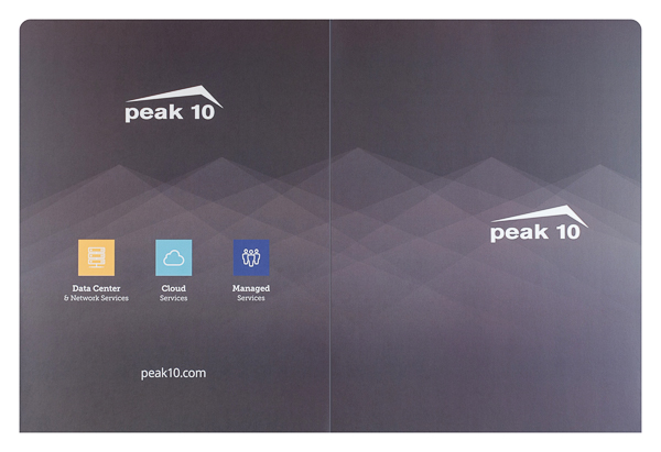 Peak 10 Data Center Solutions (Back Flat View)
