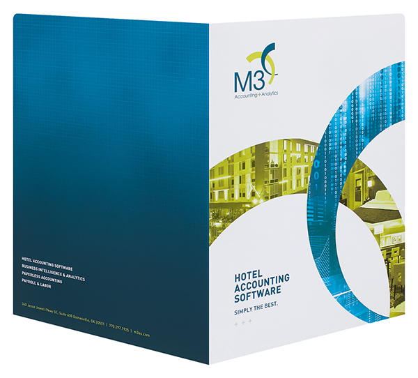 M3 Accounting & Analytics (Back and Front Open View)