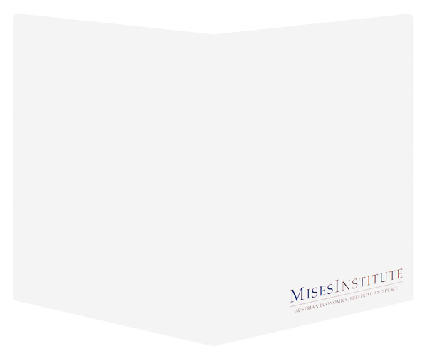 Mises Institute (Back and Front Open View)