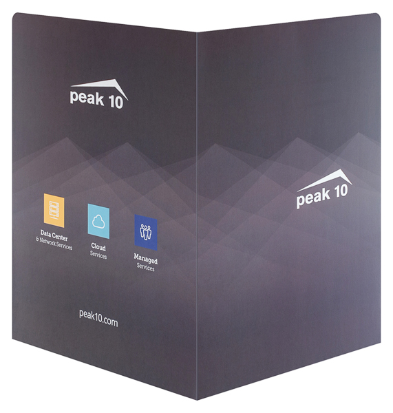 Peak 10 Data Center Solutions (Back and Front Open View)