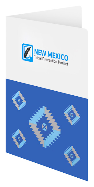 New Mexico Tribal Prevention Project (Front Open View)