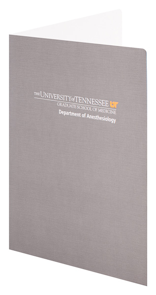 The University of Tennessee Graduate School of Medicine (Front Open View)
