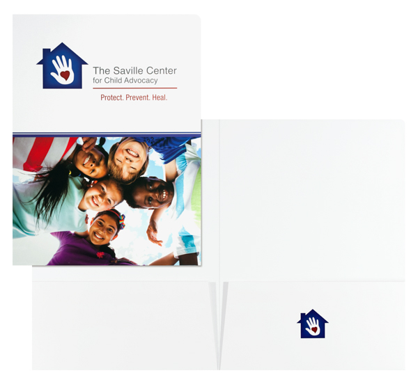 The Saville Center for Child Advocacy (Stack of Two Front and Inside View)