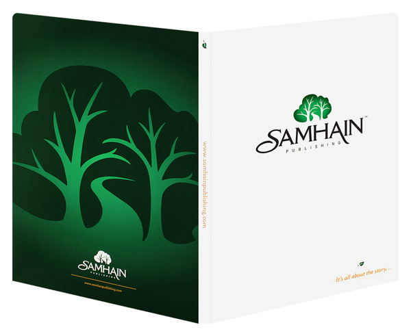 Samhain Publishing (Back and Front Open View)