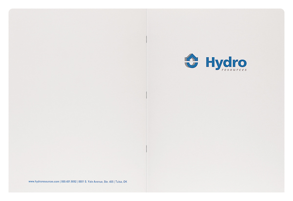 Hydro Resources, Inc. (Front and Back Flat View)