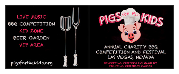 Pigs for the Kids (Front and Back Flat View)