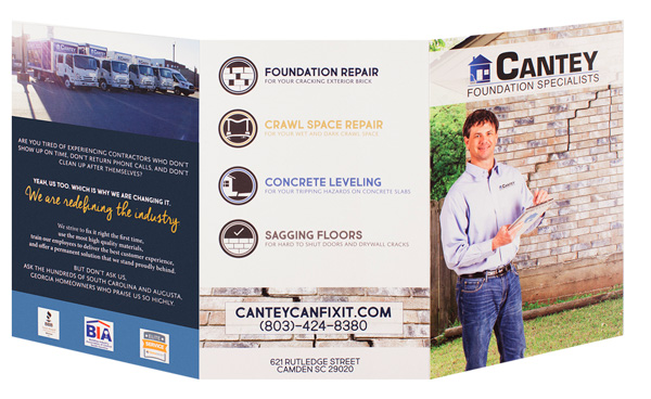 Cantey Foundation Specialists (Back and Front Open View)
