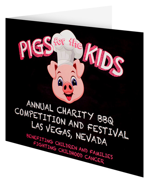 Pigs for the Kids (Front Open View)