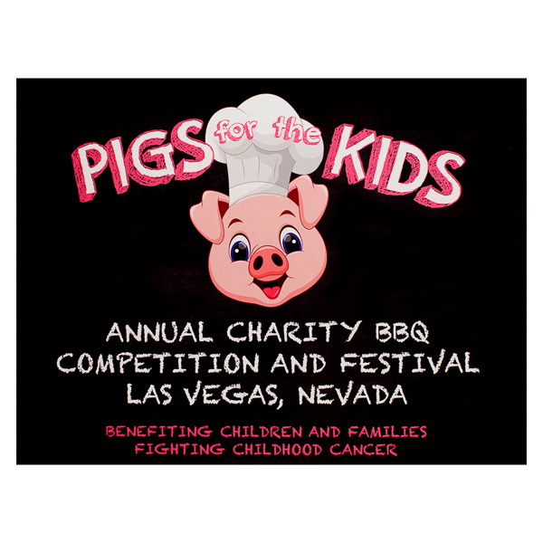 Pigs for the Kids (Front View)