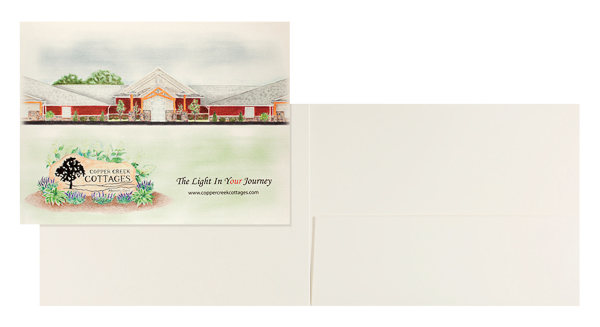 Copper Creek Cottages Memory Care (Stack of Two Front and Inside View)