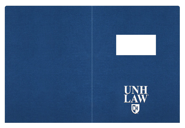 University of New Hampshire School of Law (Front and Back Flat View)