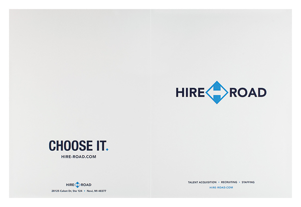 Hire Road (Front and Back Flat View)