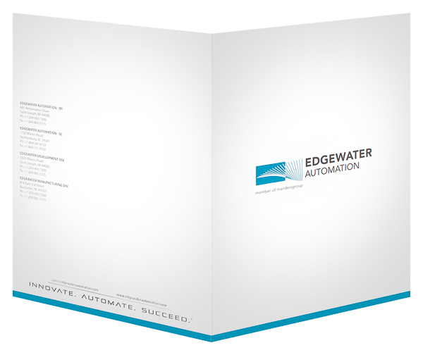 Edgewater Automation (Back and Front Open View)