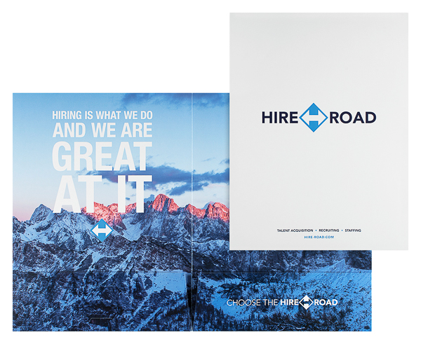 Hire Road (Stack of Two Front and Inside View)