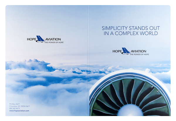 Hope Aviation Insurance (Front and Back Flat View)