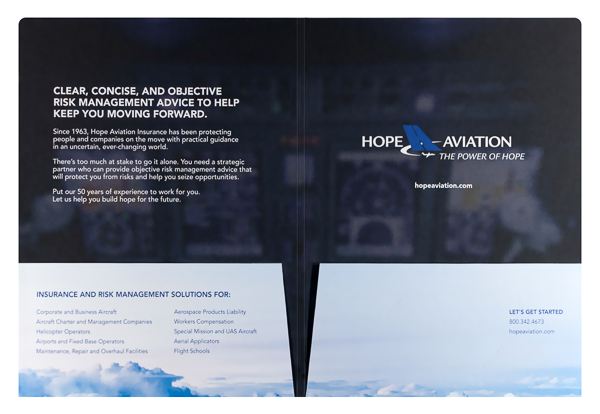 Hope Aviation Insurance (Inside Flat View)