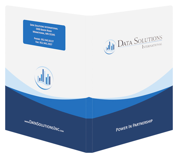 Data Solutions International (Back and Front Open View)