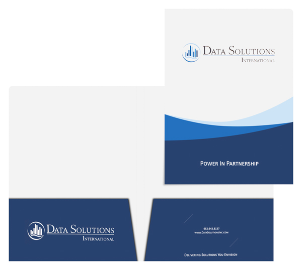 Data Solutions International (Stack of Two Front and Inside View)