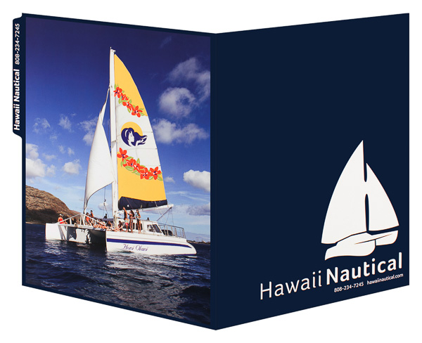 Hawaii Nautical (Back and Front Open View)