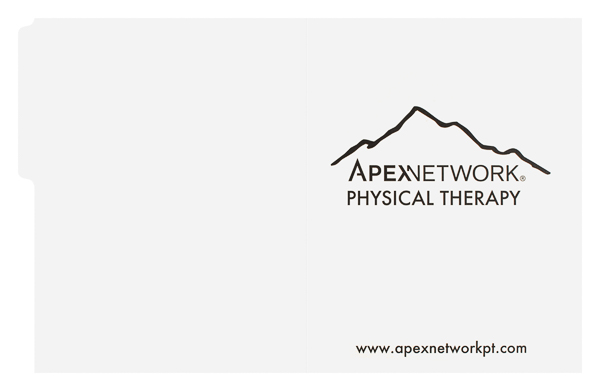 ApexNetwork Physical Therapy (Front and Back Flat View)