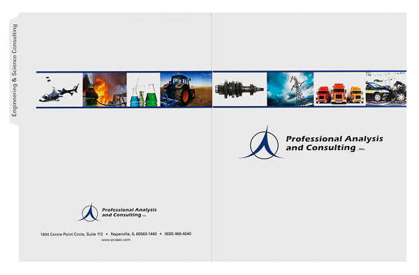 Professional Analysis and Consulting, Inc. (Front and Back Flat View)