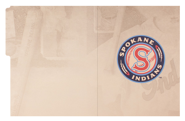 Spokane Indians (Back Flat View)