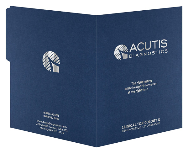 Acutis Diagnostics (Back and Front Open View)